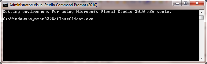 visual studio command prompt